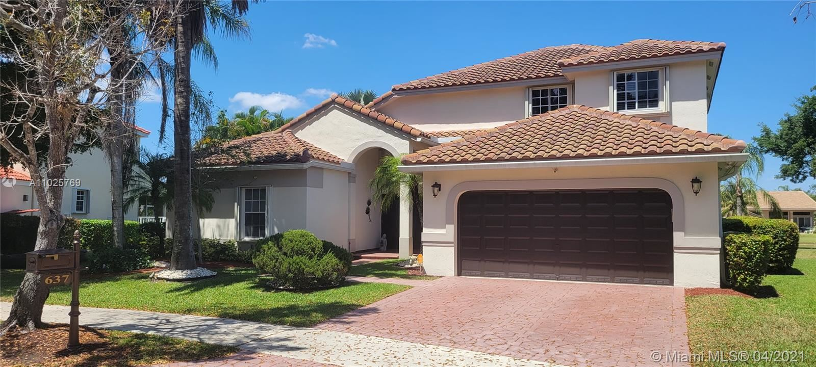637 Lake Blvd, Weston, FL 33326 - #: A11025769