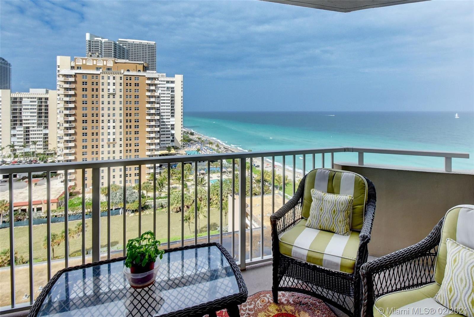 1950 S Ocean Dr #12H, Hallandale Beach, FL 33009 - #: A11003770