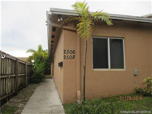 Photo of 2506 Lincoln St #1, Hollywood, FL 33020 (MLS # A10727771)