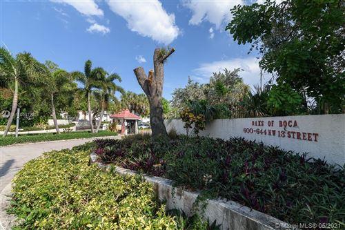 Photo of 624 NW 13th St #15, Boca Raton, FL 33486 (MLS # A11038773)