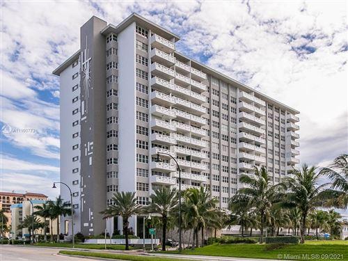 Photo of 3111 N Ocean Drive #302, Hollywood, FL 33020 (MLS # A11100773)