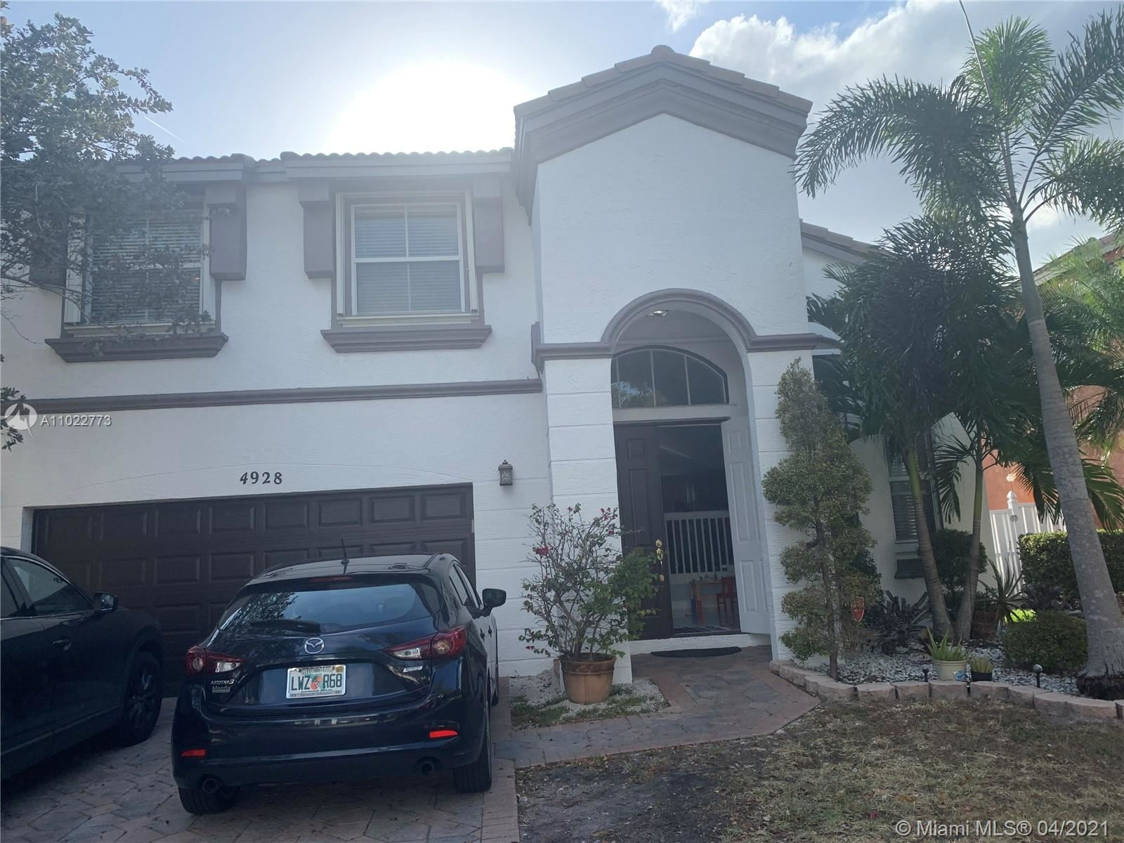 4928 SW 165th Ave, Miramar, FL 33027 - #: A11022773