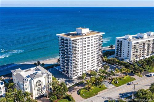 Photo of 2066 N OCEAN BLVD #6NE, Boca Raton, FL 33431 (MLS # A11025776)