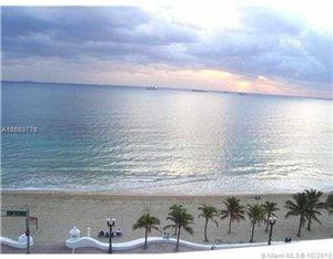 Photo of 345 N Fort Lauderdale Beach Blvd #501, Fort Lauderdale, FL 33304 (MLS # A10563778)