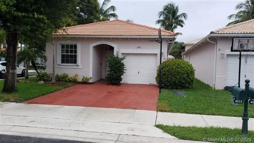 Photo of Listing MLS a10900779 in 4853 NW 19th St Coconut Creek FL 33063