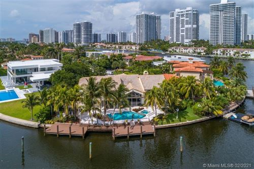 Photo of 648 N Island Dr, Golden Beach, FL 33160 (MLS # A10529781)