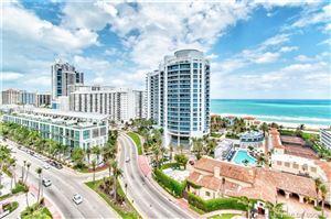 Photo for 5900 Collins Ave #1502, Miami Beach, FL 33140 (MLS # A10281782)