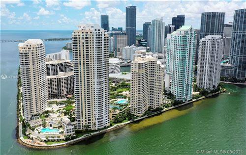 Photo of 848 Brickell Key Dr #1404, Miami, FL 33131 (MLS # A11064782)