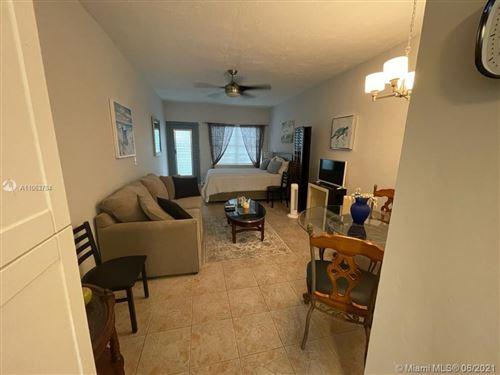 Photo of 6490 Collins Ave #5, Miami Beach, FL 33141 (MLS # A11063784)