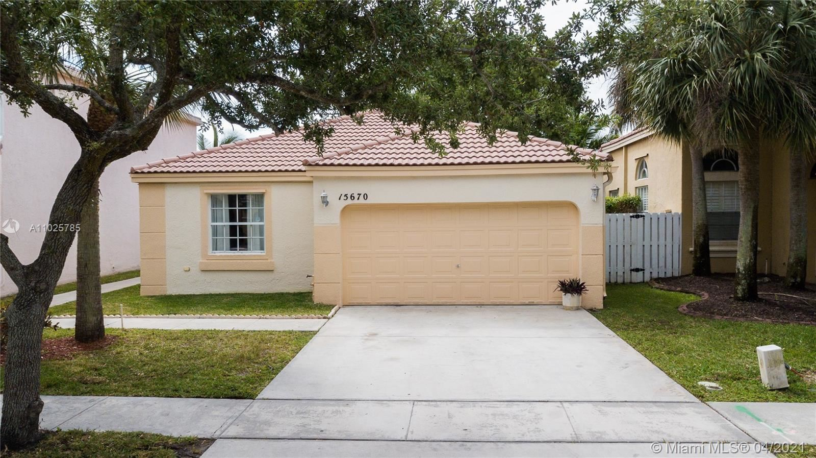 15670 NW 14th Ct, Pembroke Pines, FL 33028 - #: A11025785