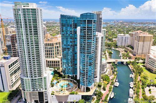 Photo of 333 Las Olas Way #3506/3507, Fort Lauderdale, FL 33301 (MLS # A10848786)