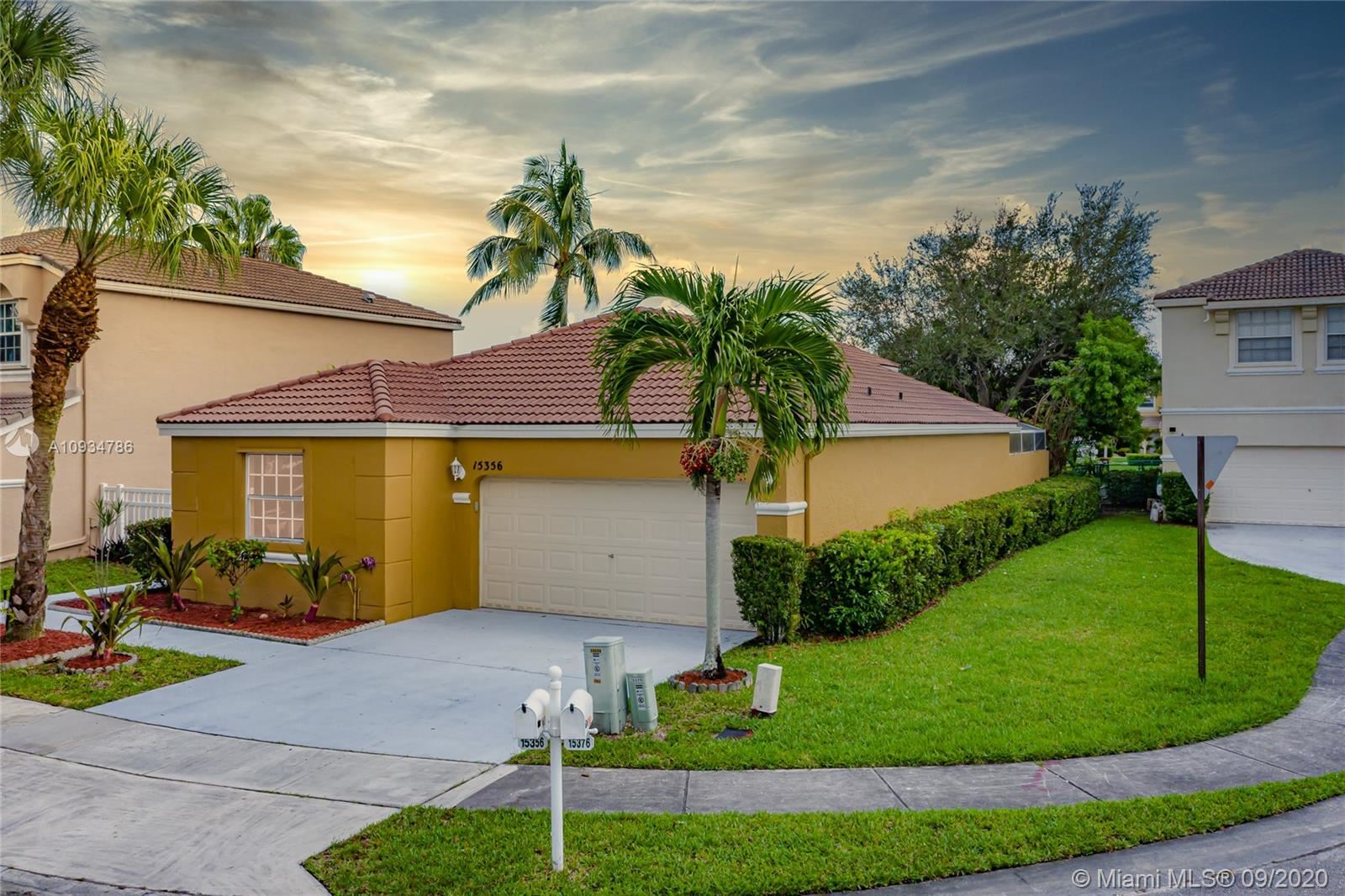 15356 NW 14th Mnr, Pembroke Pines, FL 33028 - #: A10934786
