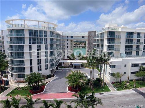 Photo of 6620 INDIAN CREEK DR #402, Miami Beach, FL 33141 (MLS # A10074787)