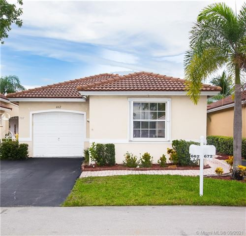 Photo of 662 NW 173rd Terrace, Pembroke Pines, FL 33029 (MLS # A11101787)