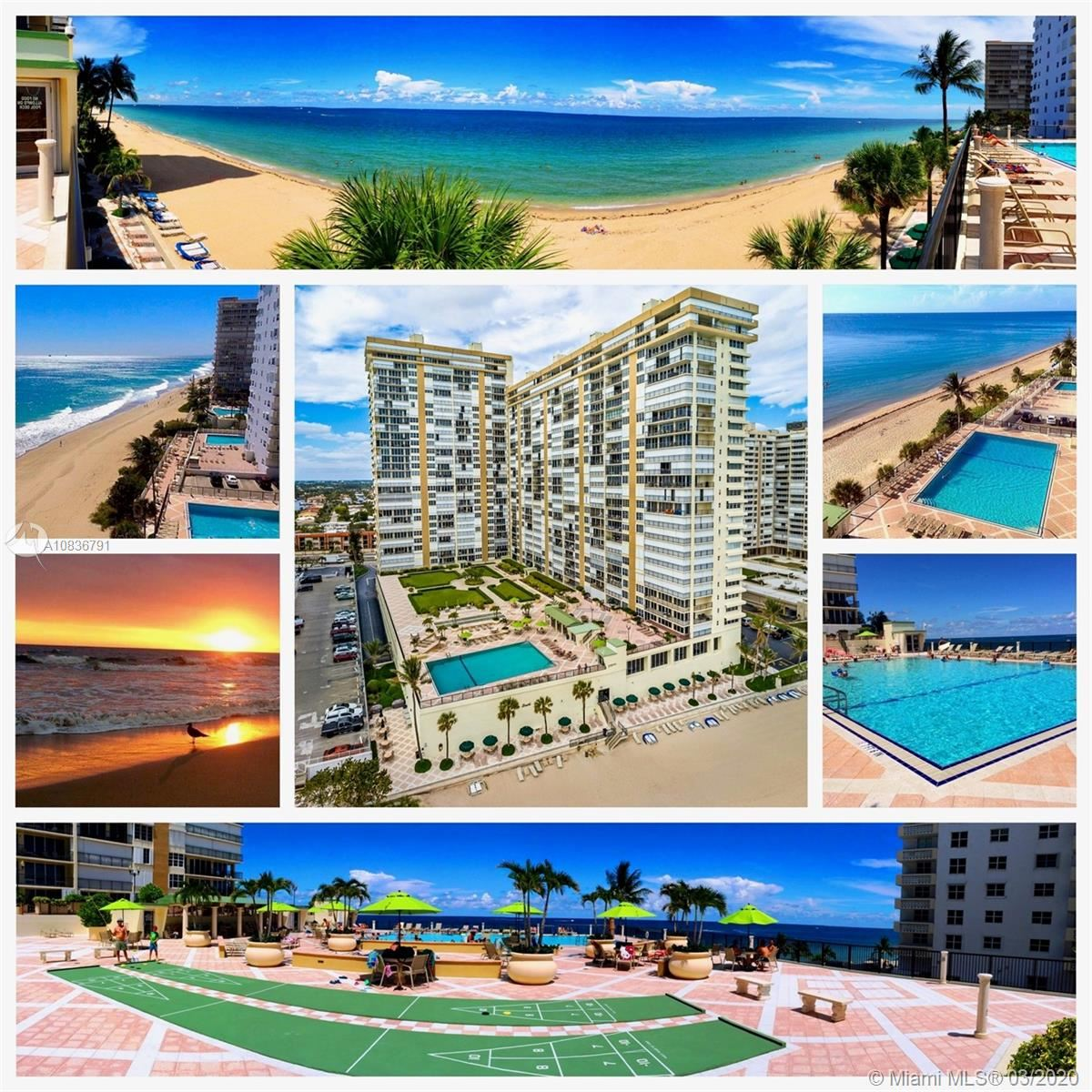 Photo of 4280 Galt Ocean Dr #5F, Fort Lauderdale, FL 33308 (MLS # A10836791)