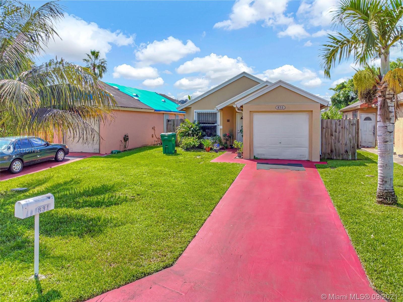 831 SW 10th St, Florida City, FL 33034 - #: A11101794
