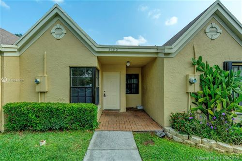 Photo of Listing MLS a10844797 in 3680 NW 83rd Ln #3680 Sunrise FL 33351