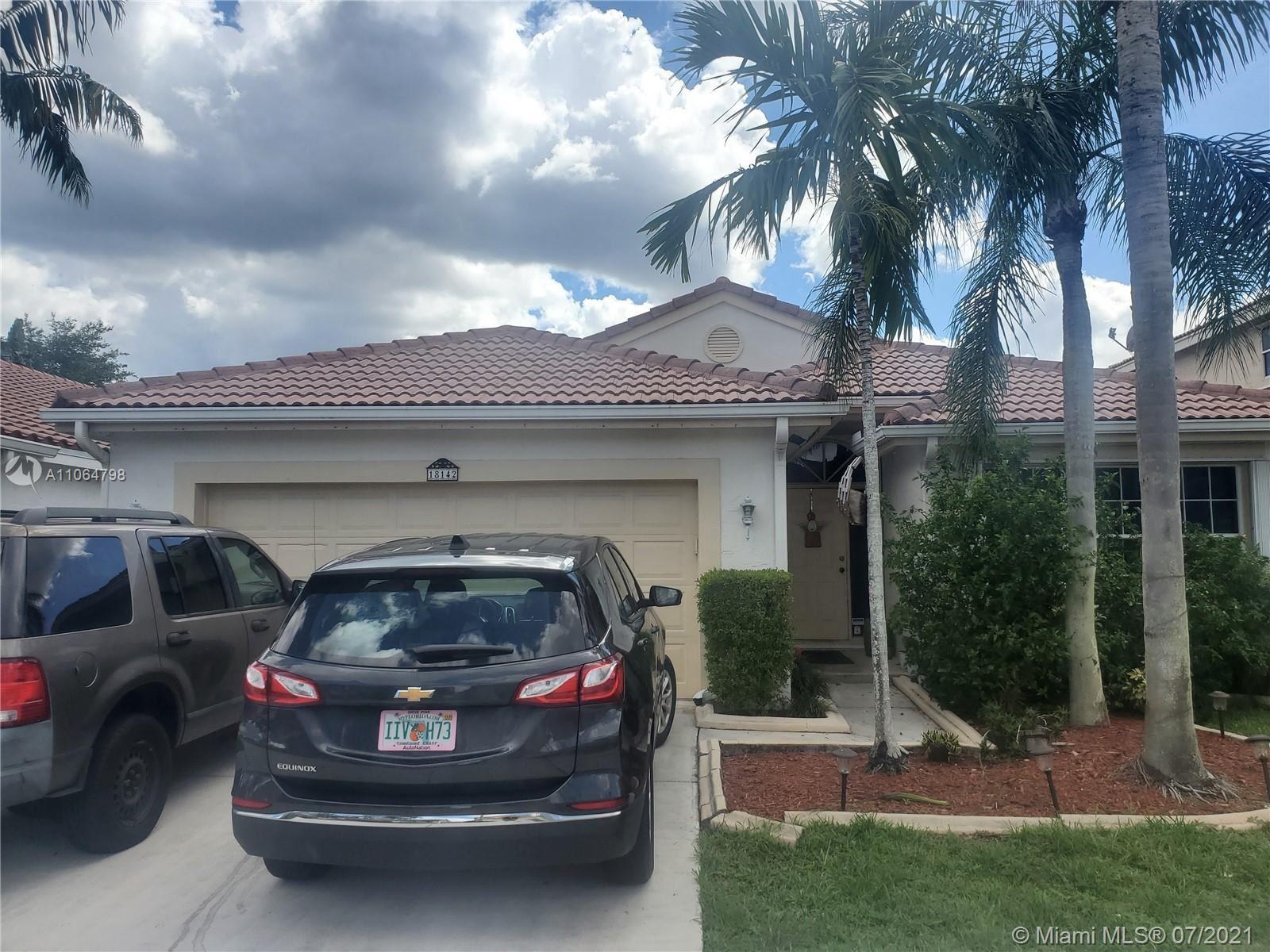 18142 SW 3rd St, Pembroke Pines, FL 33029 - #: A11064798