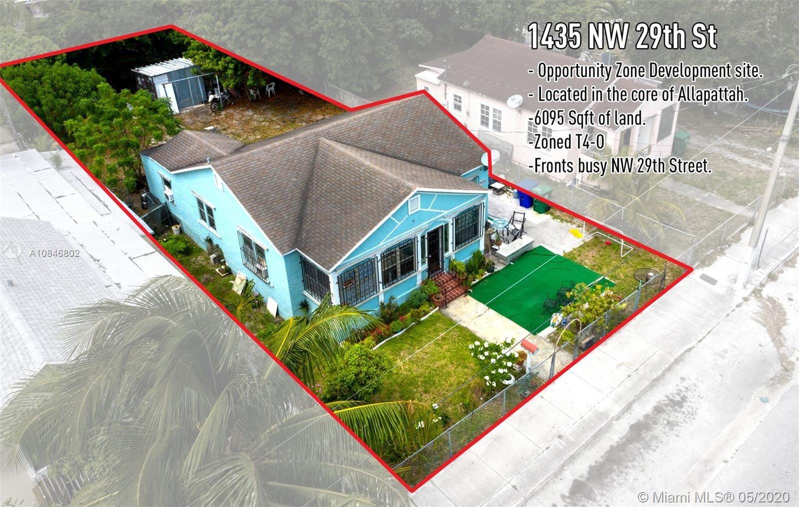 1435 NW 29th St, Miami, FL 33142 - #: A10846802