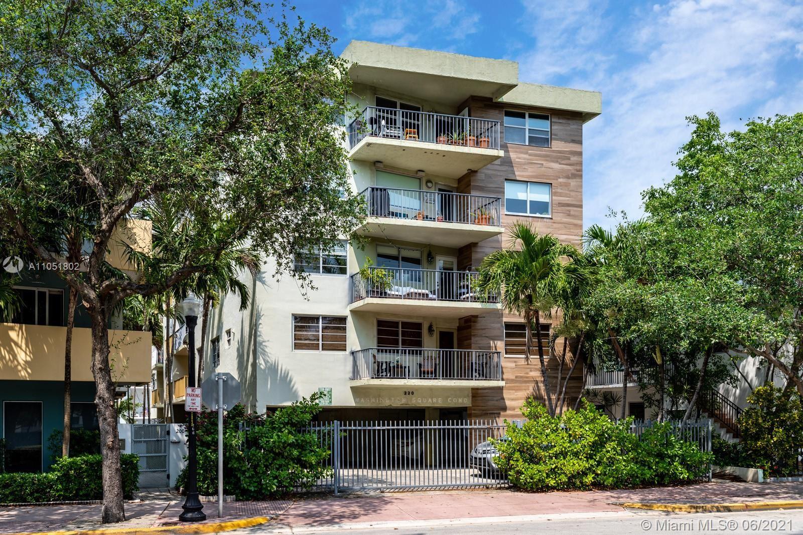 220 Washington Ave #5C, Miami Beach, FL 33139 - #: A11051802