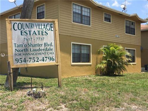 Photo of 7625 Tam O'Shanter Blvd #102-2, North Lauderdale, FL 33068 (MLS # A10824803)
