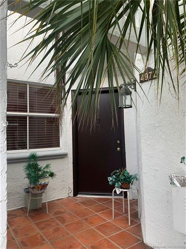 Photo of Listing MLS a10888805 in 4972 NW 97th Pl #298 Doral FL 33178
