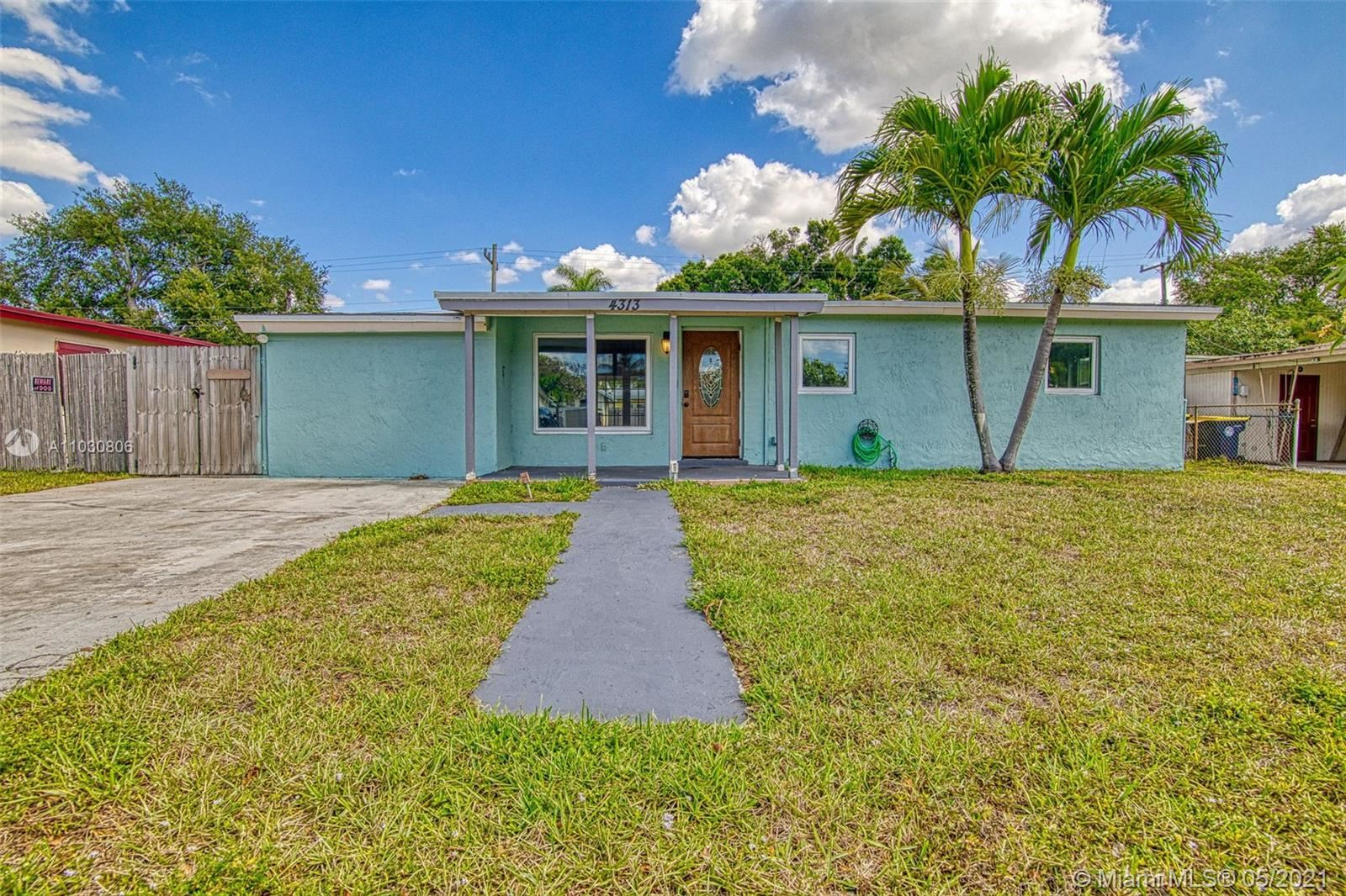 Photo of 4313 SW 50th St, Dania Beach, FL 33314 (MLS # A11030806)