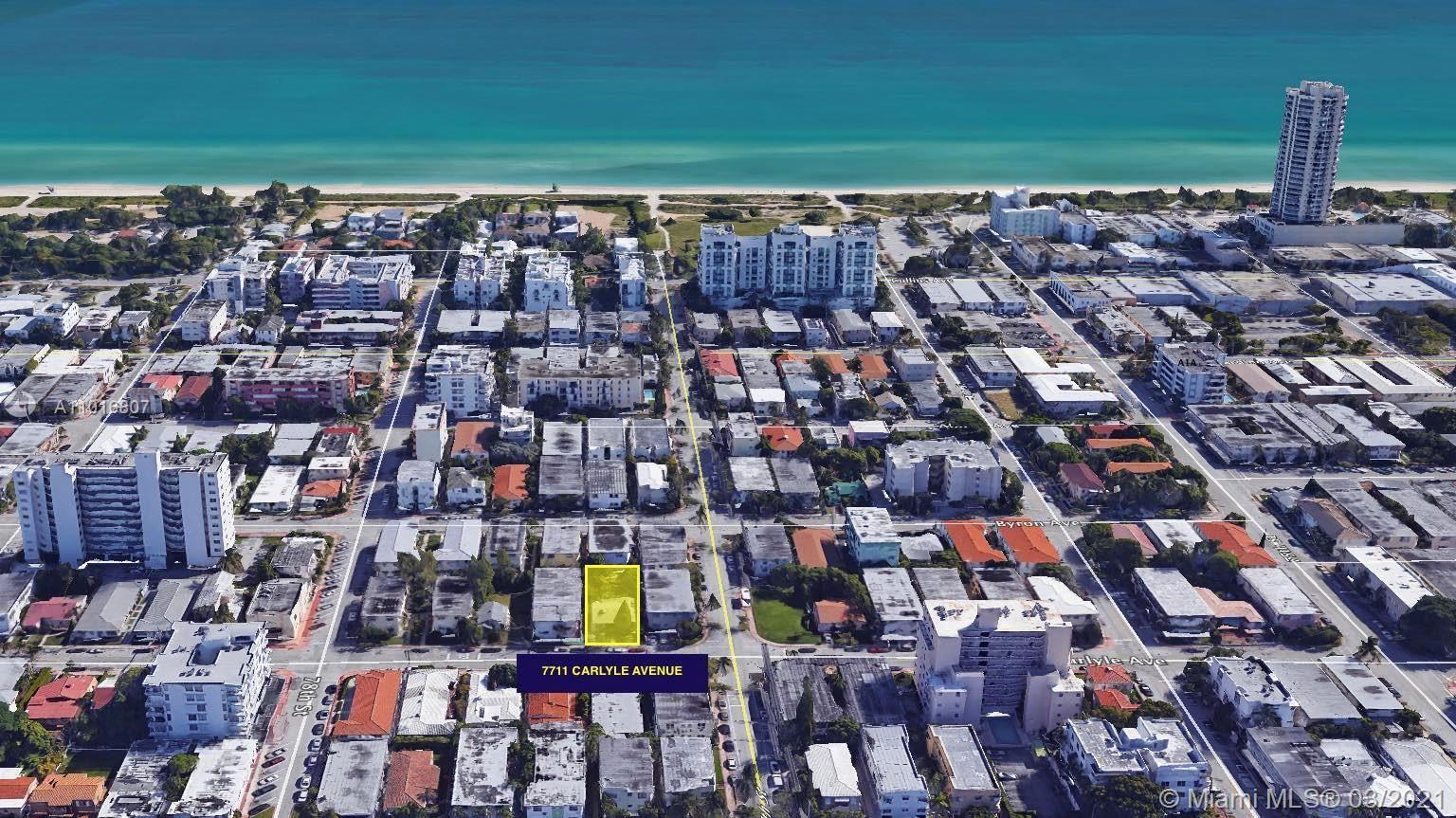 7711 Carlyle Ave, Miami Beach, FL 33141 - #: A11016807