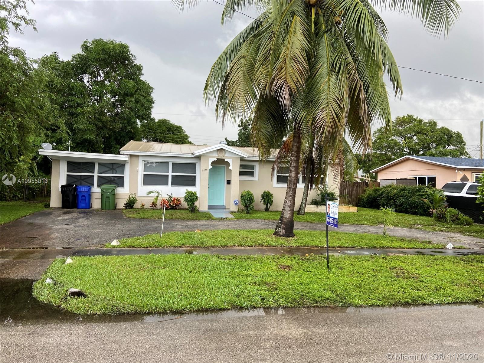 640 SW 29 Ter, Fort Lauderdale, FL 33311 - #: A10955810