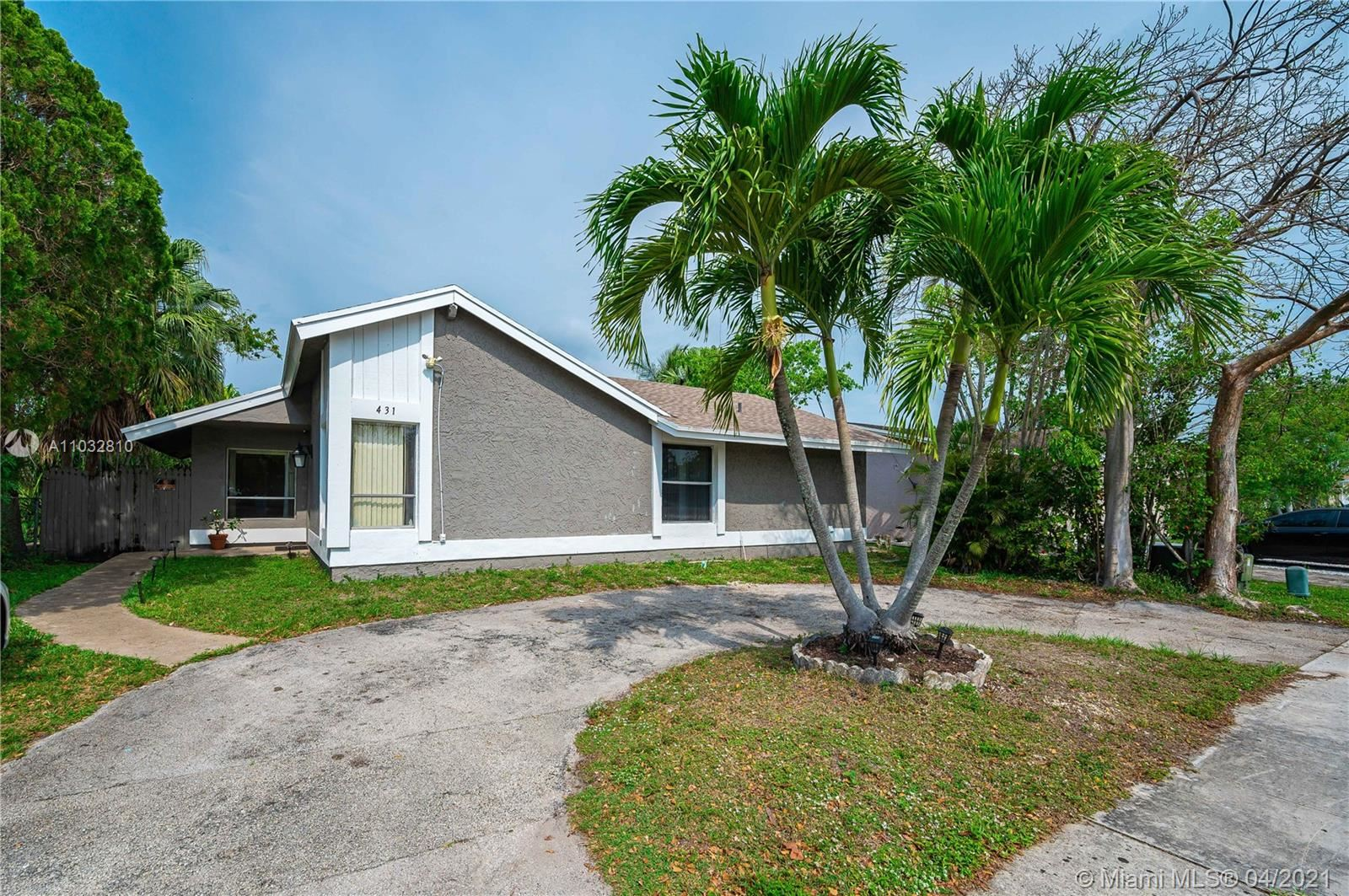 431 SW 83rd Ave, North Lauderdale, FL 33068 - #: A11032810