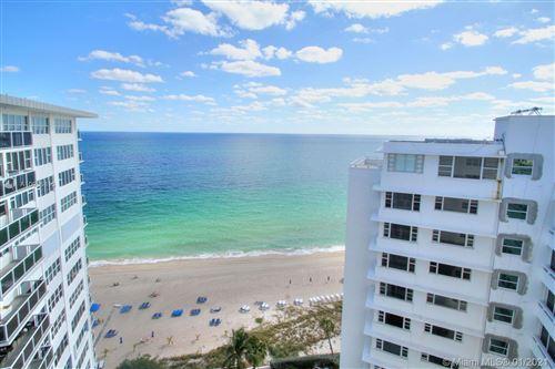 Photo of 3700 Galt Ocean Dr #1710, Fort Lauderdale, FL 33308 (MLS # A10985813)
