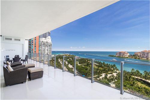 Photo of 800 S Pointe Dr #1202, Miami Beach, FL 33139 (MLS # A10879814)