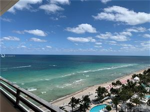 Photo of 3505 S Ocean Dr #1515, Hollywood, FL 33019 (MLS # A10658815)
