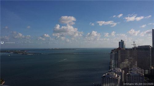 Photo of 495 Brickell Ave #3903, Miami, FL 33131 (MLS # A10825815)