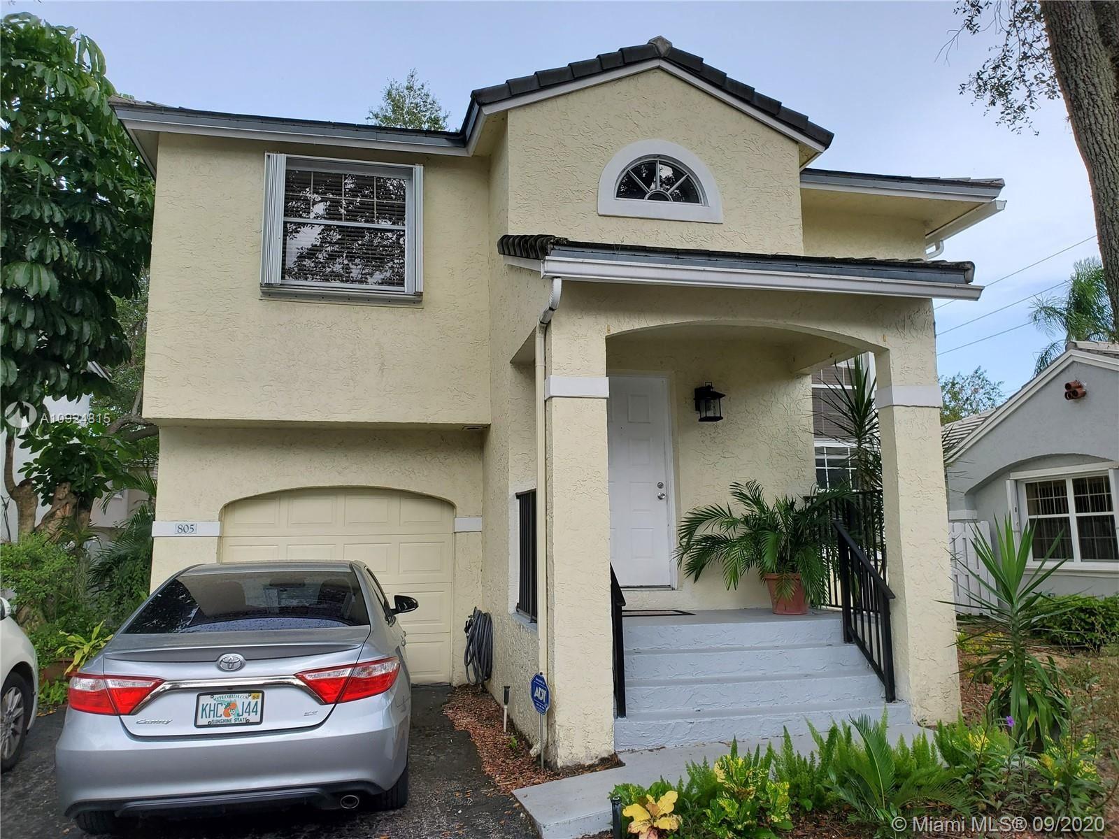 805 NW 98th Ave, Plantation, FL 33324 - #: A10924815
