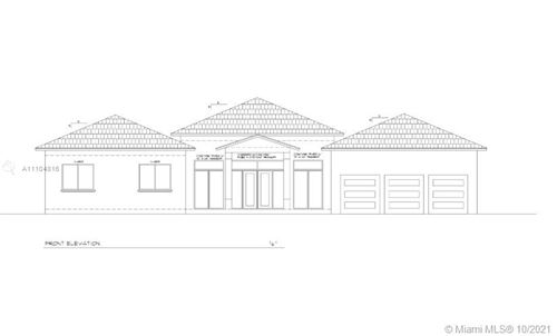 Photo of 8045 SW 128th St, Pinecrest, FL 33156 (MLS # A11104816)