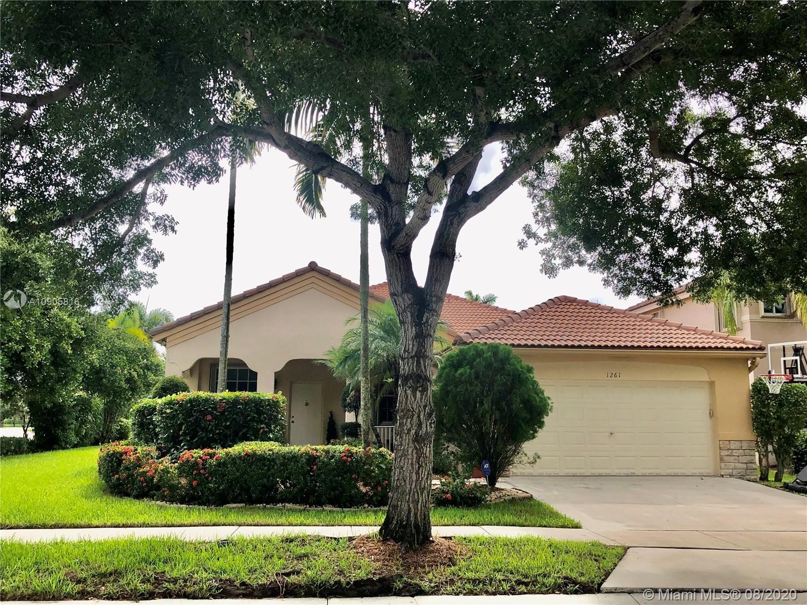 1261 Allamanda Way, Weston, FL 33327 - #: A10905816