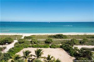 Photo of 9341 COLLINS AV #401, Surfside, FL 33154 (MLS # A10454820)