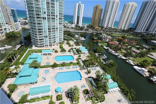 Photo of 16500 Collins Ave #1752, Sunny Isles Beach, FL 33160 (MLS # A10933821)