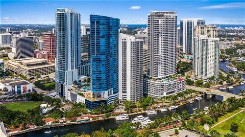 Photo of 333 Las Olas Way #4103, Fort Lauderdale, FL 33301 (MLS # A11036821)