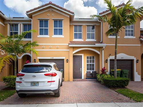 Photo of Listing MLS a10836822 in 1465 SE 24th Ave #1465 Homestead FL 33035
