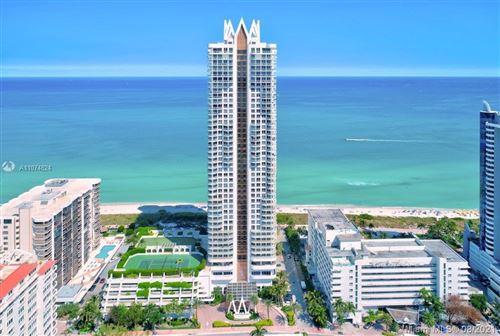 Photo of 6365 Collins Ave #1706, Miami Beach, FL 33141 (MLS # A11074824)