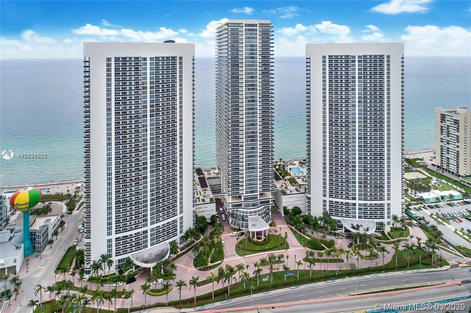 1850 S Ocean Dr #2708, Hallandale Beach, FL 33009 - #: A10821825