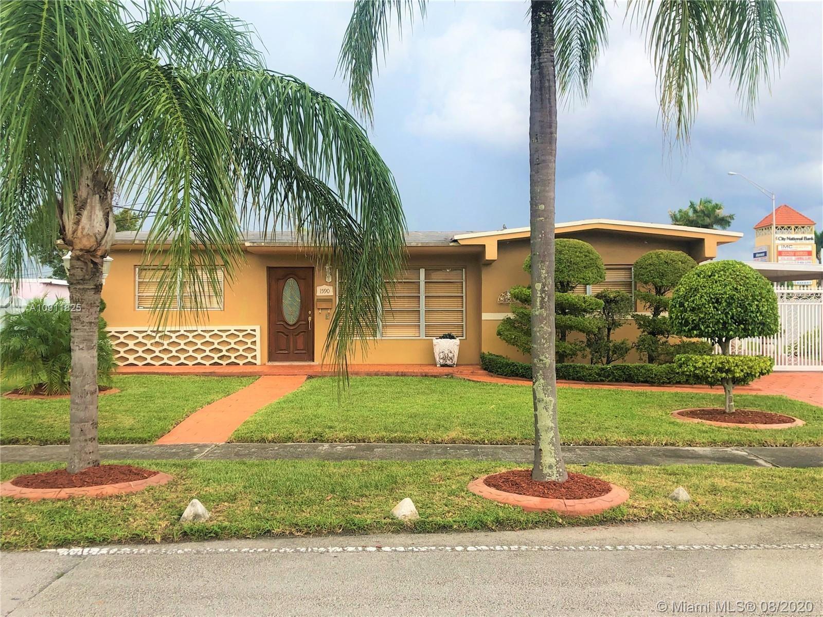 1590 W 55th St, Hialeah, FL 33012 - #: A10911825