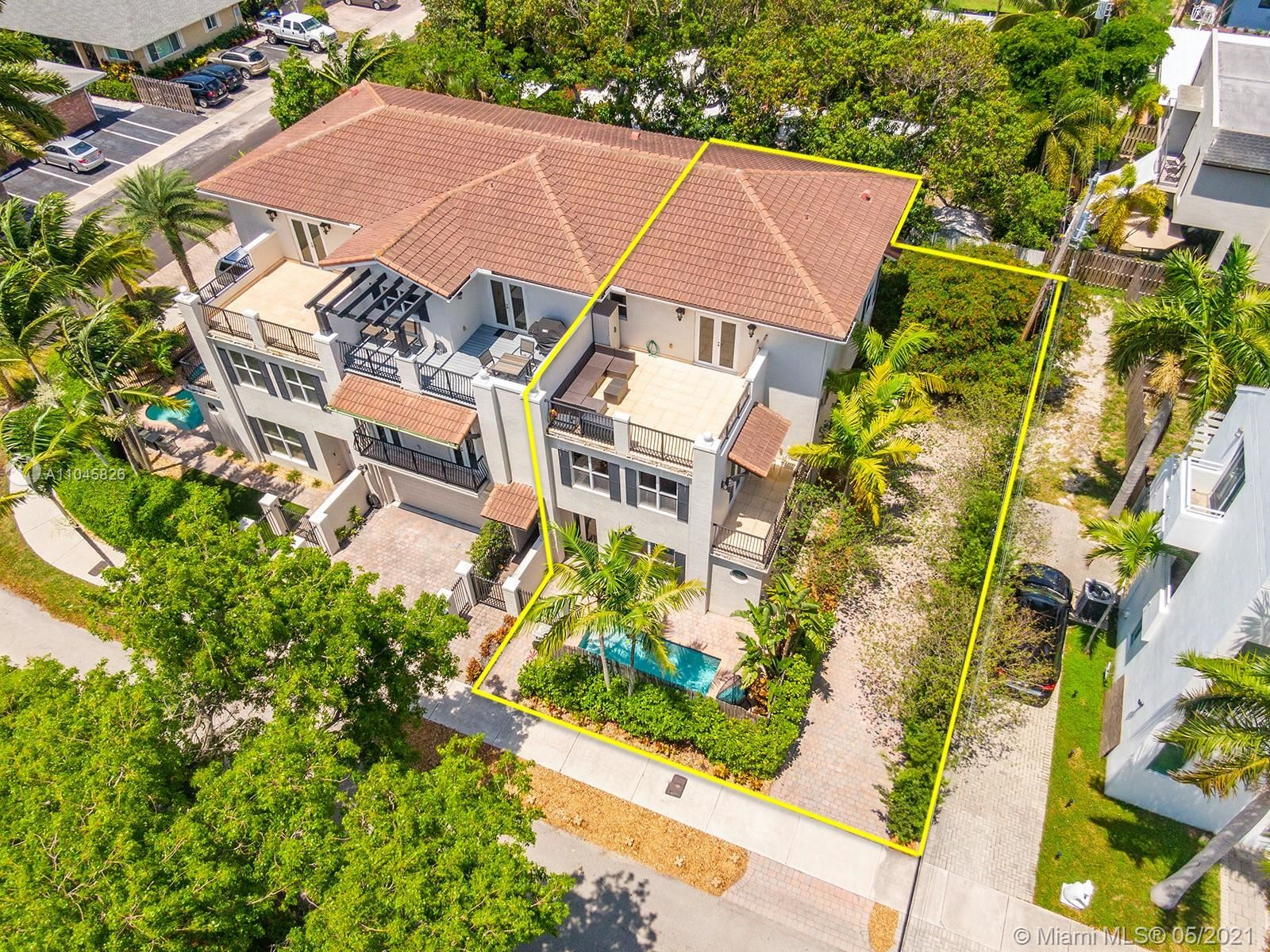 Photo of 539 NE 15th Ave, Fort Lauderdale, FL 33301 (MLS # A11045826)