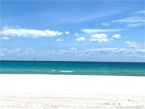 Photo of 6423 Collins Ave #801, Miami Beach, FL 33141 (MLS # A10819827)