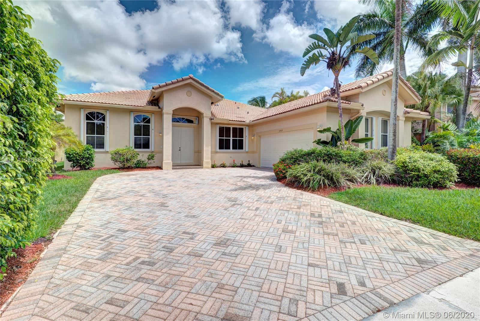 1459 Cardinal Way, Weston, FL 33327 - #: A10863827