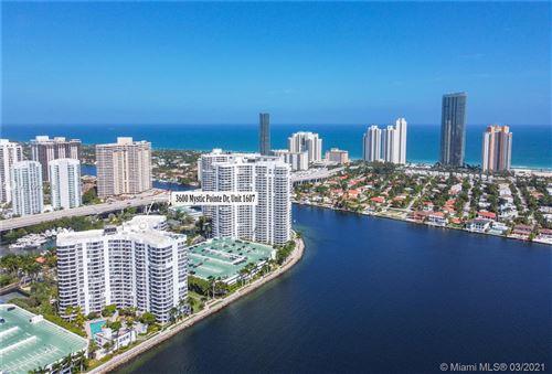 Photo of 3600 Mystic Pointe Dr #1607, Aventura, FL 33180 (MLS # A11003828)