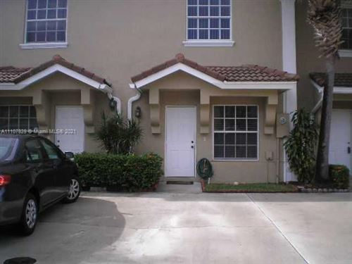 Photo of 376 SW 122nd Ave #376, Pembroke Pines, FL 33025 (MLS # A11107828)