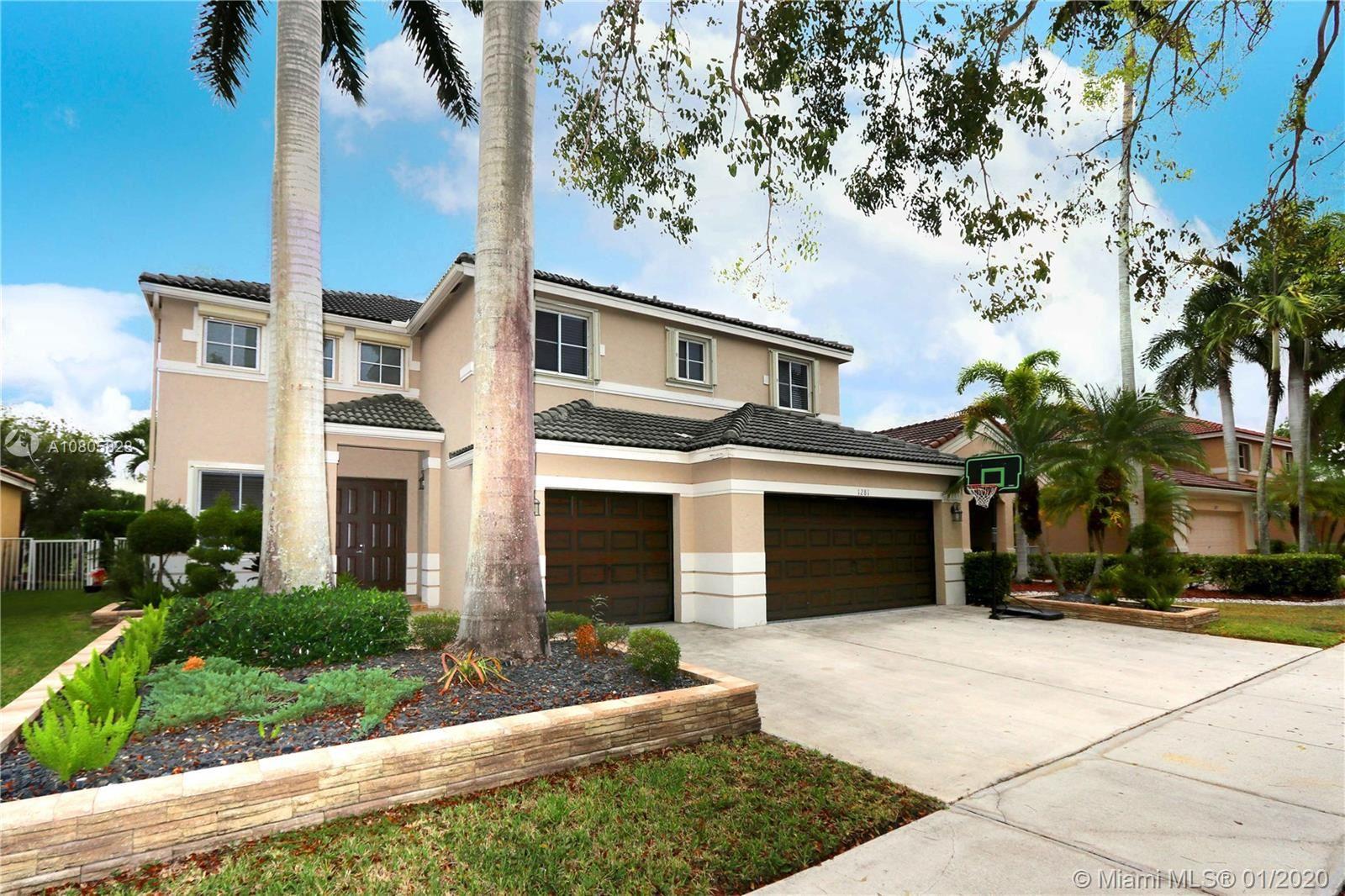 1281 Chenille Cir, Weston, FL 33327 - #: A10805828